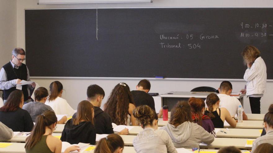 Un total de 39.775 estudiants faran la selectivitat a Catalunya