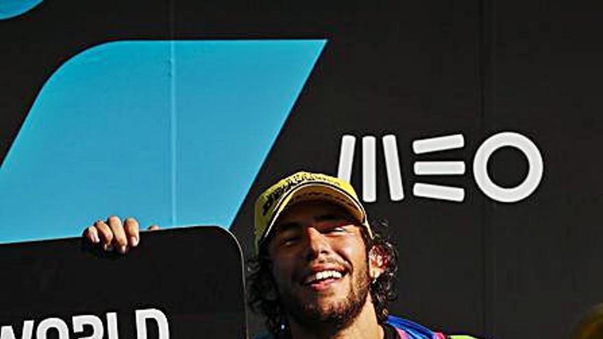 Bastianini, campeón de Moto2