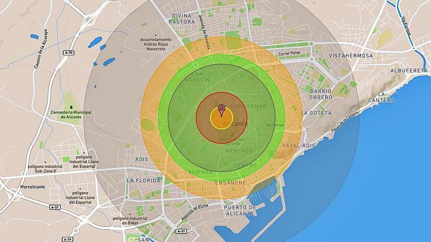 Si la bomba atómica hubiera caído en Alicante...