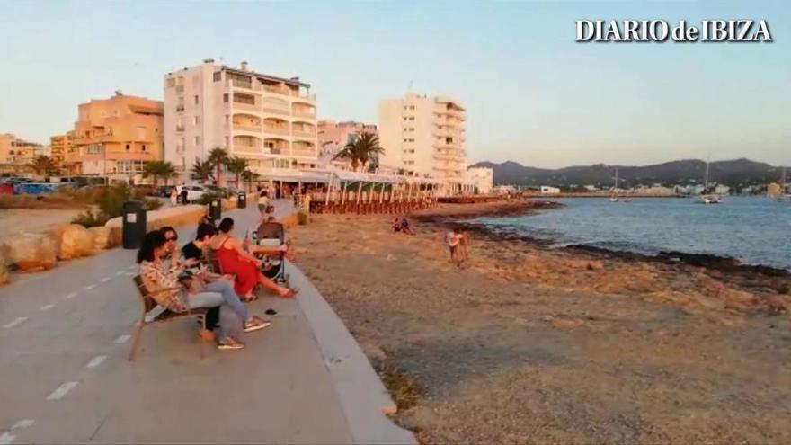 Puestas de sol sin aplausos este verano en Sant Antoni