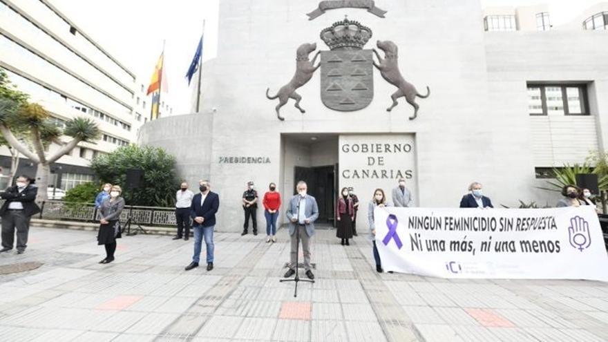 Canarias muestra su repulsa al último asesinato por violencia de género en Gáldar