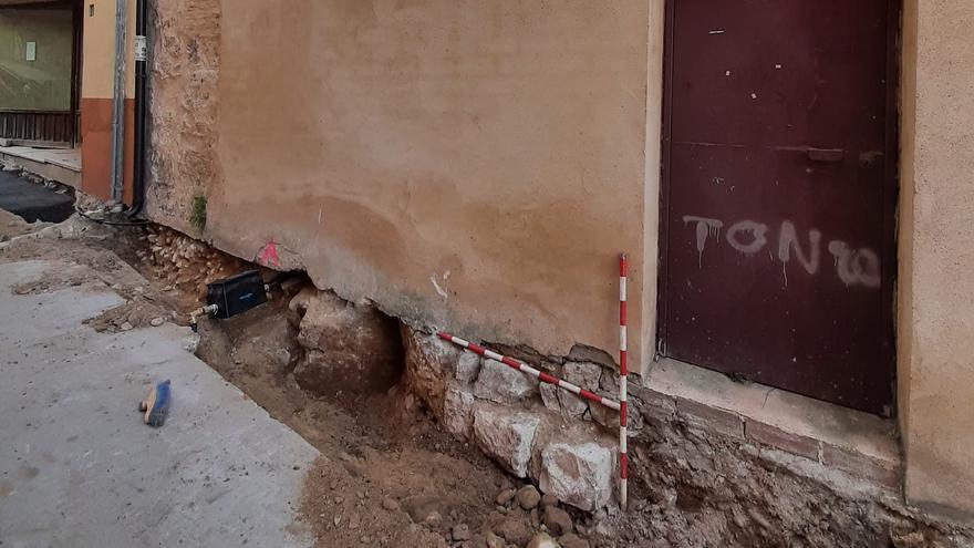 Hallados restos del segundo recinto amurallado de Toro en la calle San Lorenzo