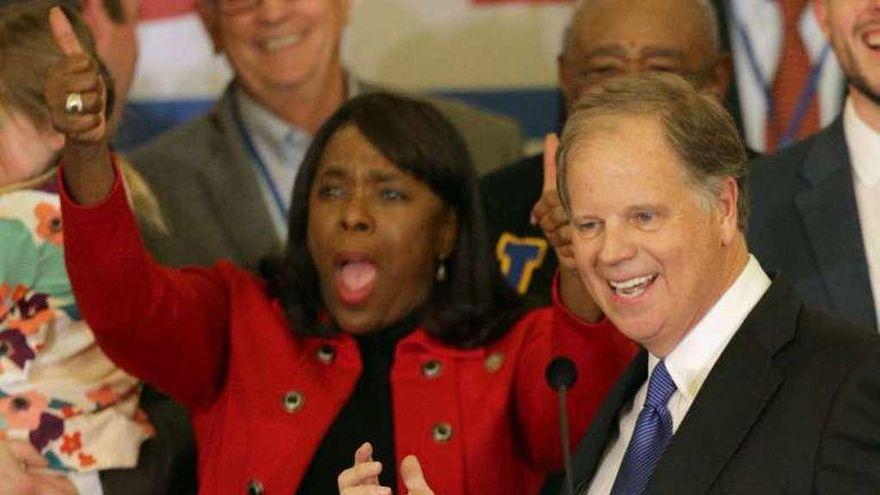 Los demócratas logran su primer senador en Alabama en el último cuarto de siglo