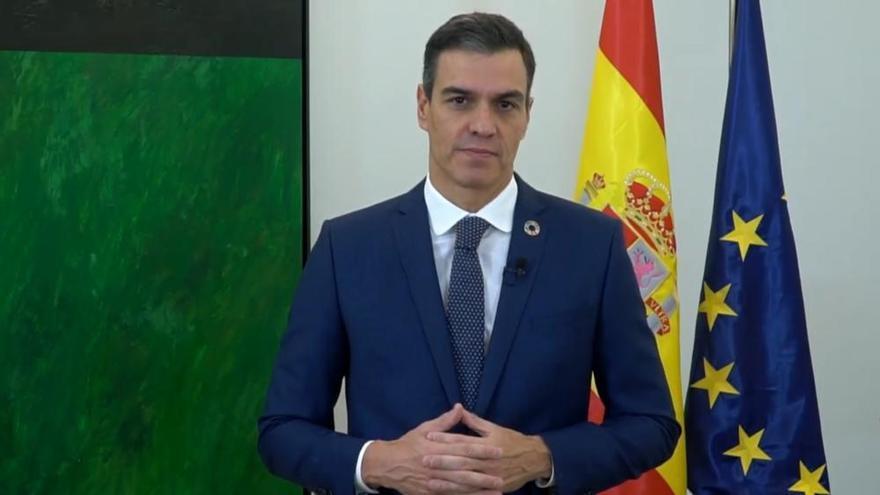 """Sánchez: """"La emergencia climática es el mayor desafío"""""""