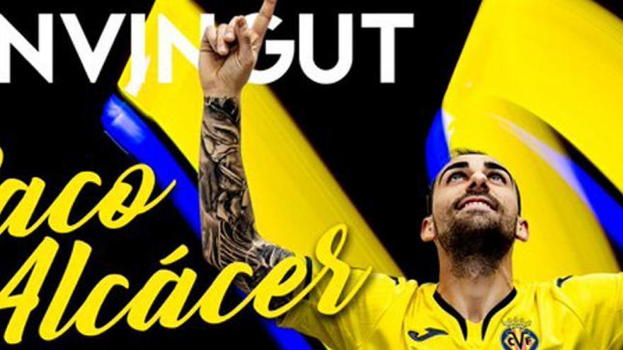 Oficial: Alcácer firma por el Villarreal hasta 2025