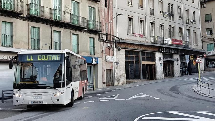 El servei de bus urbà de Berga serà gratuït a partir de dilluns
