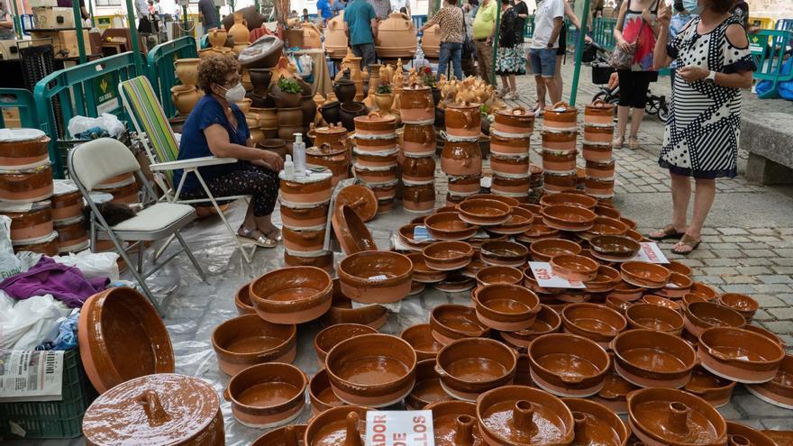 GALERÍA | La Feria de la Cerámica y Alfarería Popular de Zamora 2021, en imágenes