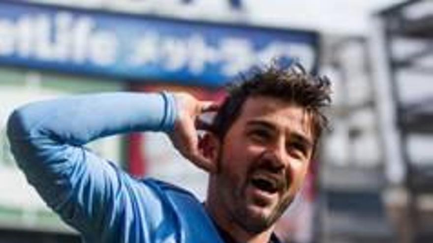 David Villa revela en un tuit que serà company d'Iniesta al Vissel Kobe