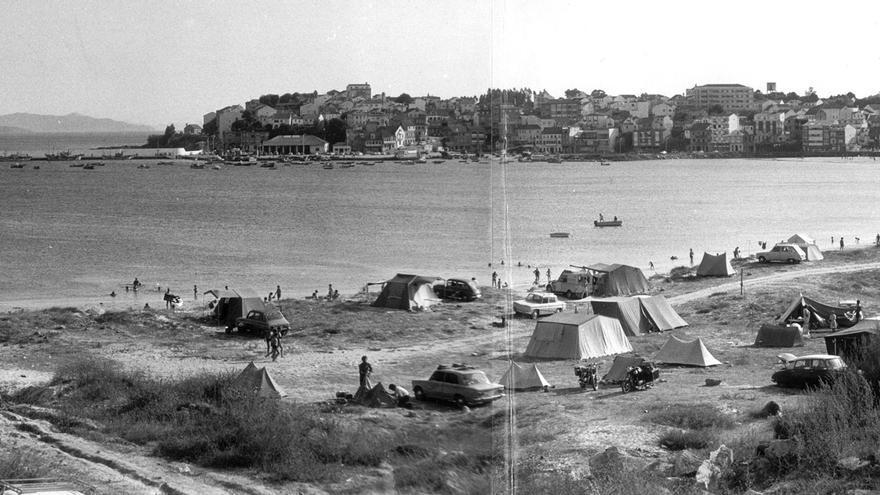 De las playas salvajes al bum del turismo: 100 años de cambio en Sanxenxo