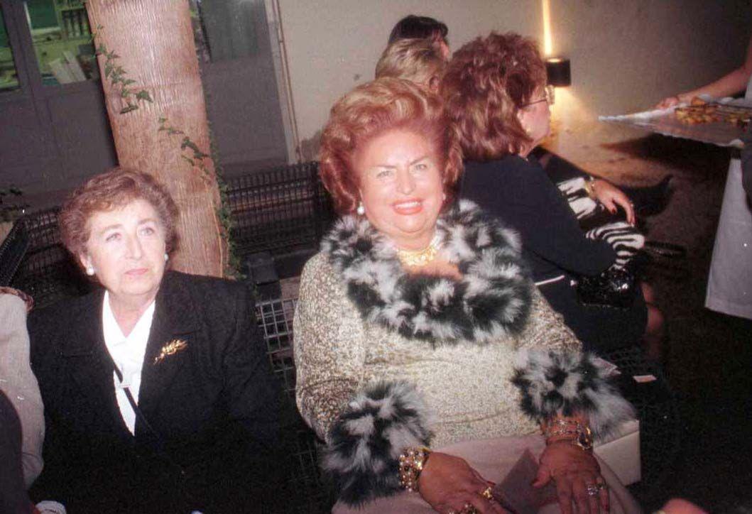 Muere Lola Fos, madre del naviero Vicente Boluda