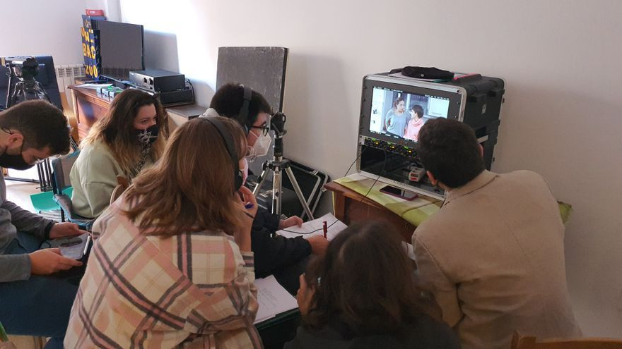 Ocimax proyecta cuatro cortos de los alumnos del CEF