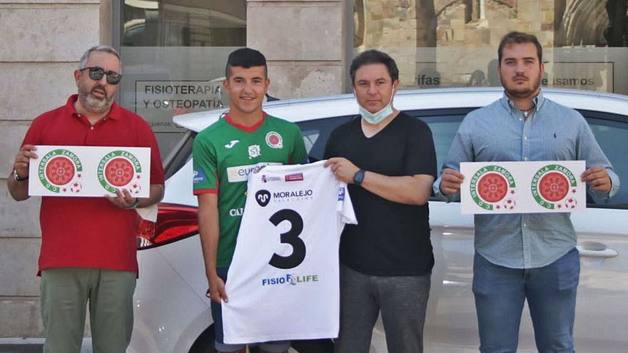 El InterSala Zamora presenta a Dani Revilla