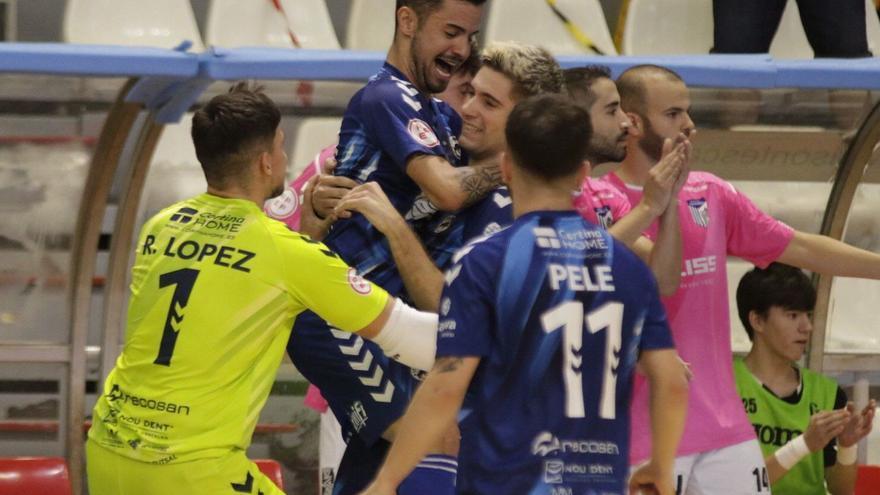 Agridulce 7ª jornada de la Segunda División de fútbol sala para Bisontes y Peñíscola
