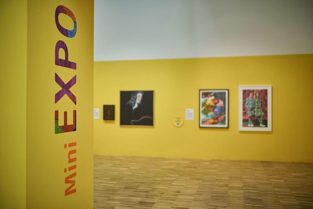 """Presentación de la exposición """"Colorin Colorado"""""""