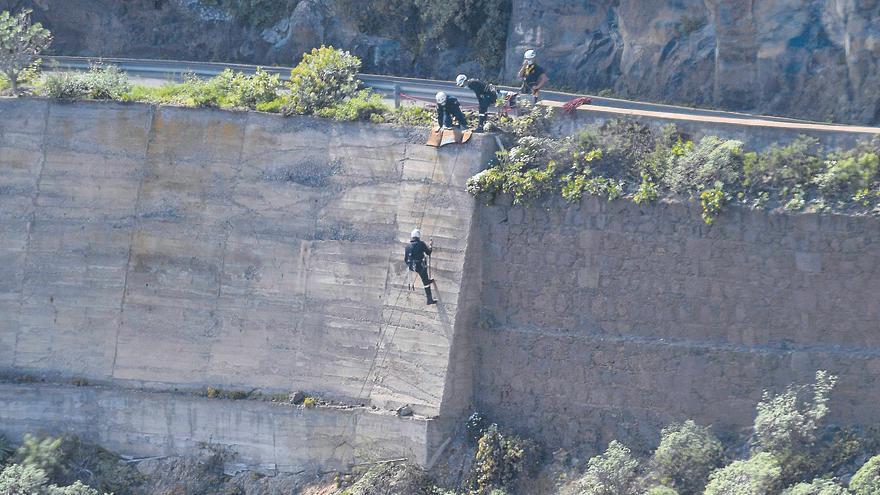 Escaladores intensifican la búsqueda de Juana Ramos en barrancos del norte