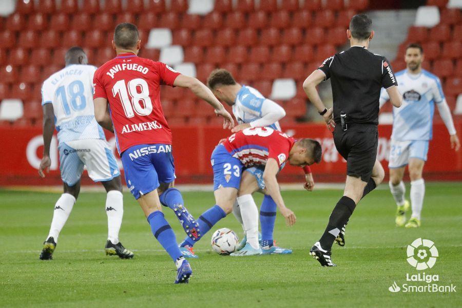 El Sporting-Lugo, en imágenes