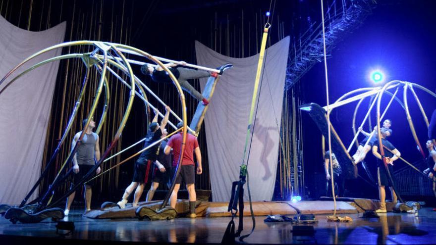 Un acróbata del Circo del Sol muere en pleno espectáculo