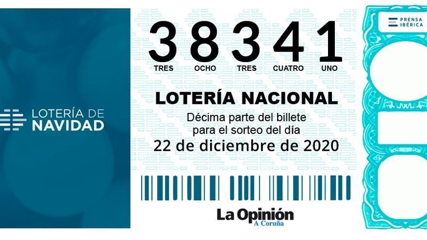 Lotería de Navidad | El segundo cuarto premio, el 38341, también cae en Vigo