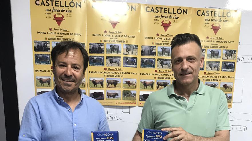 Mascarillas gratis para ir a los toros en Castellón