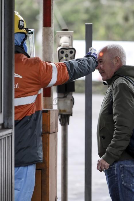 Control de temperatura a la entrada de Arcelor