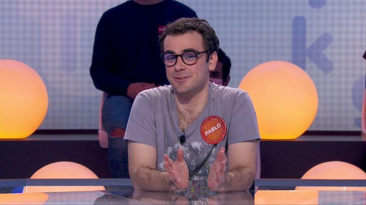 Pablo Díaz en el programa del jueves de 'Pasapalabra'