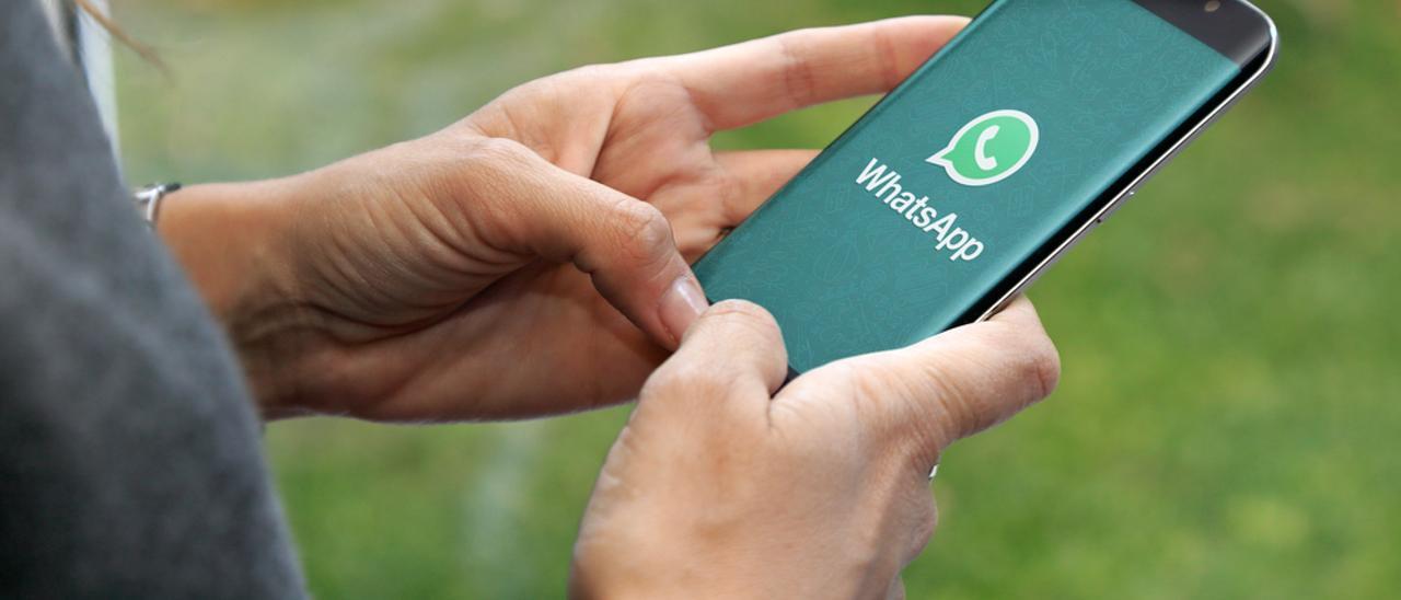 Imagen de la aplicación móvil de Whatsapp