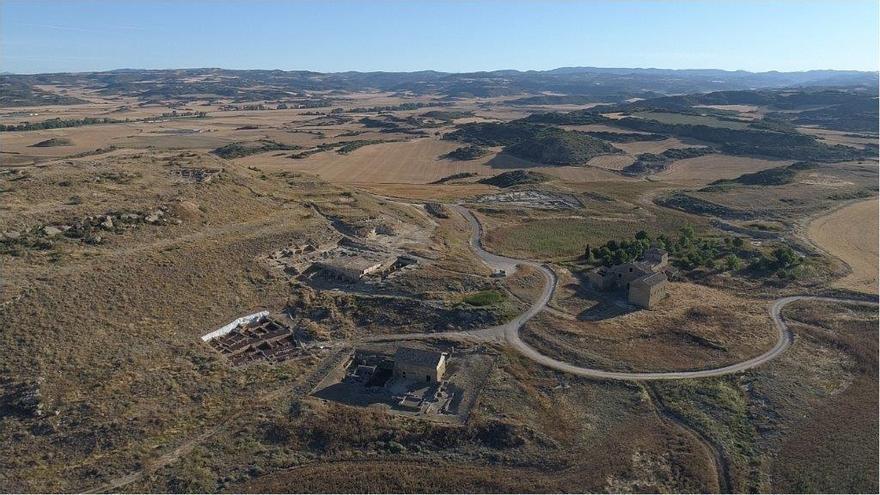 El yacimiento romano de Los Bañales desarrolla hasta finales de julio su campaña de excavación anual