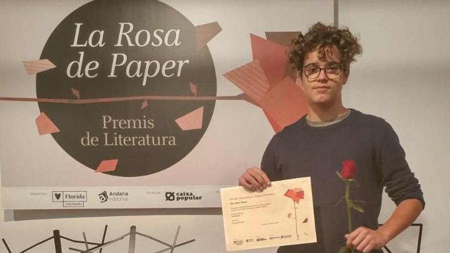 Florida Grup Educatiu entrega los premios de la 'Rosa de Paper'