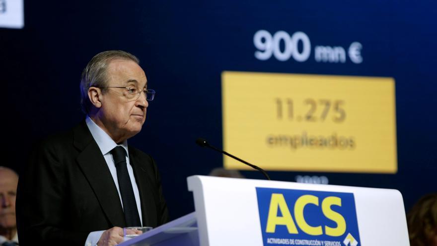 El Grupo ACS aumenta su beneficio neto un 4,8% en el primer semestre hasta los 351 millones de euros