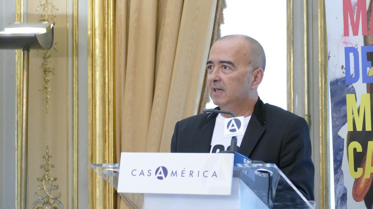 Paco Martín, responsable de actividades culturales y director de festivales del Ayuntamiento de Cartagena