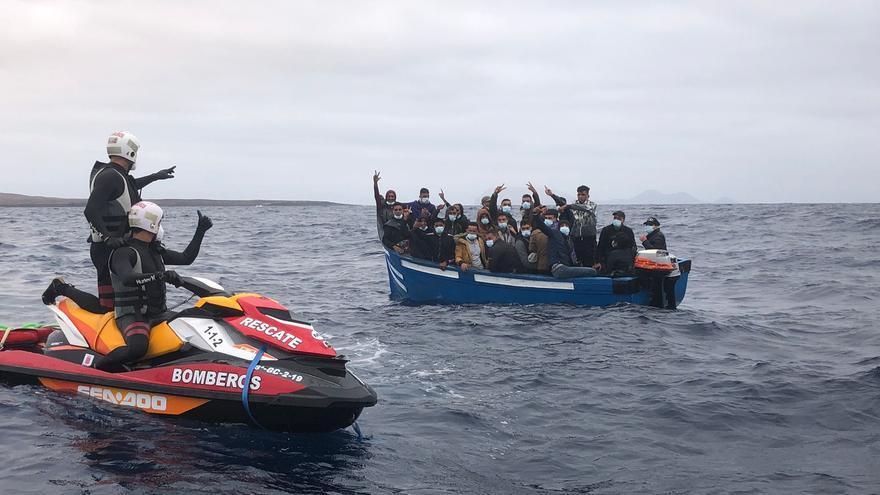 Llegan 167 migrantes a las costas de Canarias en las últimas horas