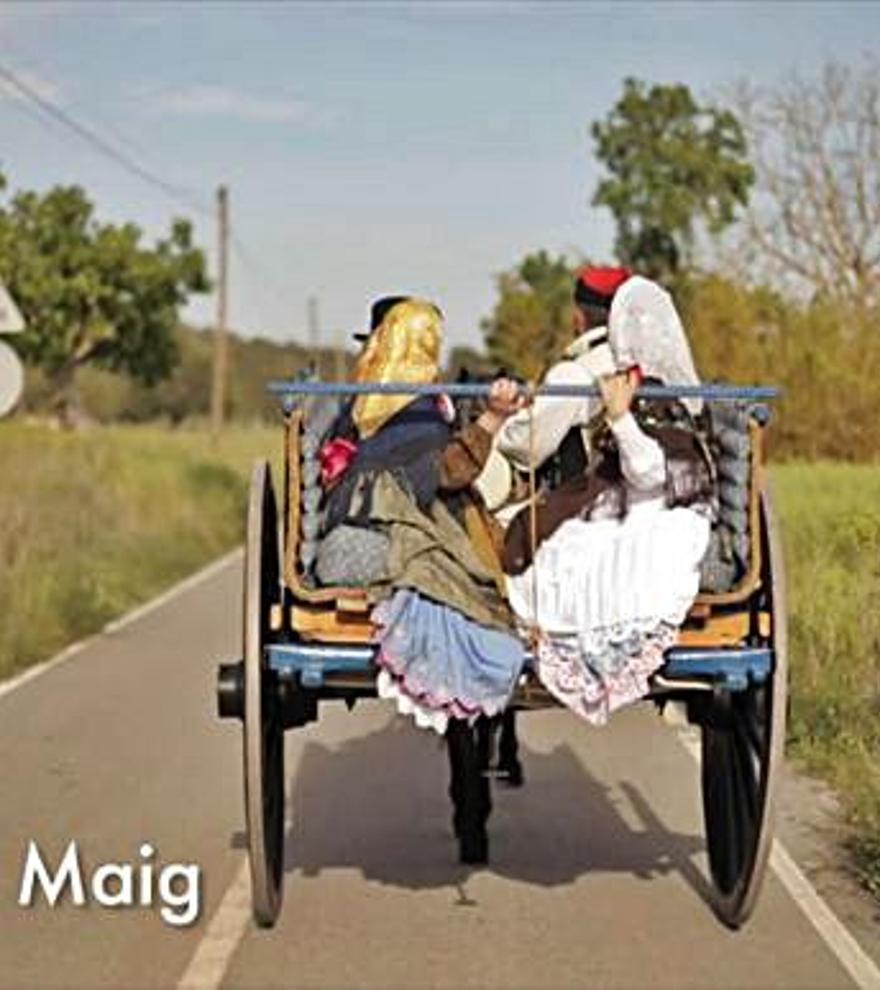 Un vídeo conmemorativo recuerda la emoción de Anar a Maig 'vestit de pagès'