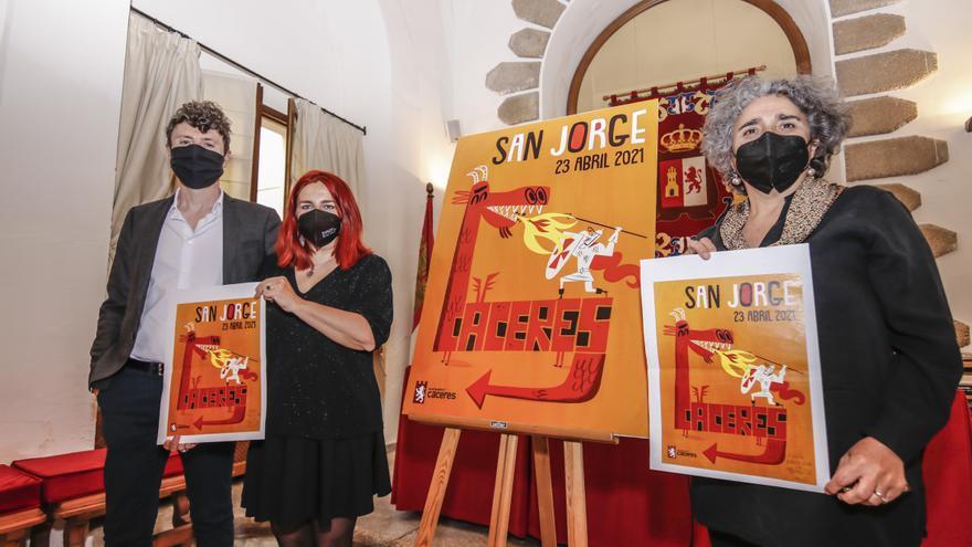 Cáceres recreará la leyenda de San Jorge por barrios