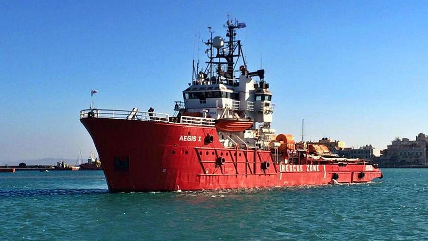 La Agencia Europea de Pesca tiene nuevo barco para vigilar las aguas en torno a Reino Unido