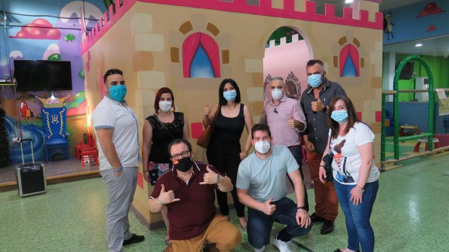 Dueños de parques de bolas se reúnen en San Vicente para iniciar acciones y reclamar poder trabajar