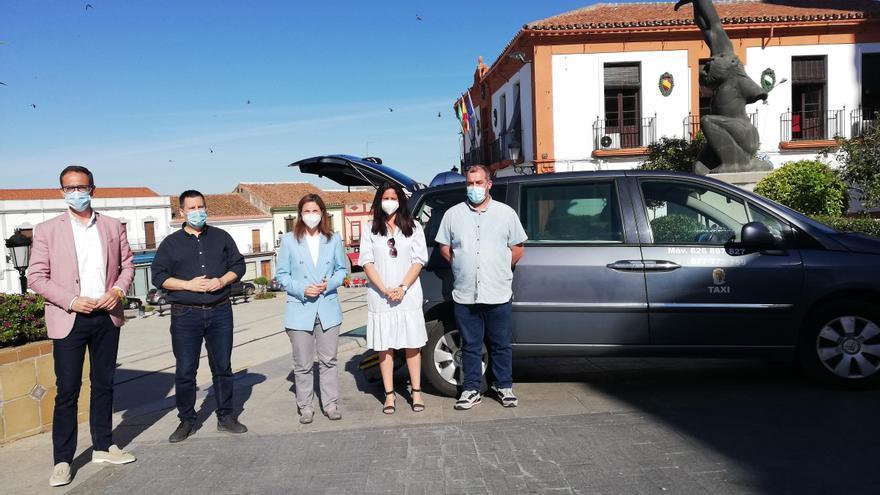 La Junta refuerza el servicio de taxi rural a demanda en la zona norte