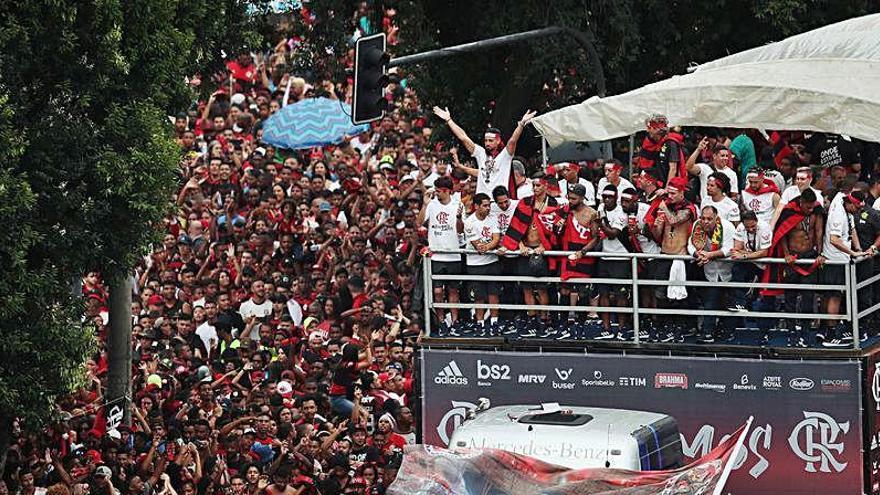 El Flamengo registra 38 positivos por coronavirus