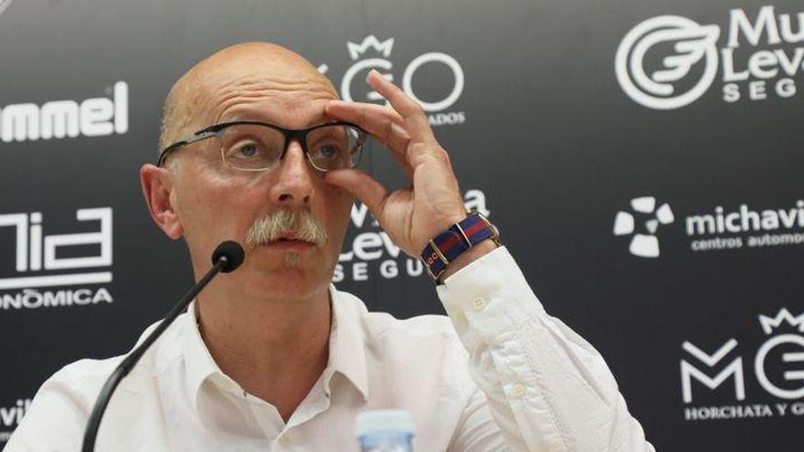 """Frank Castelló: """"El partido ante el Eldense es como de promoción"""""""