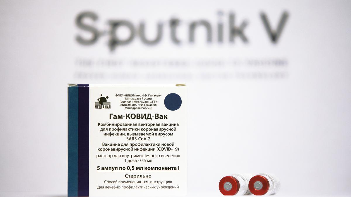 La vacuna Sputnik.