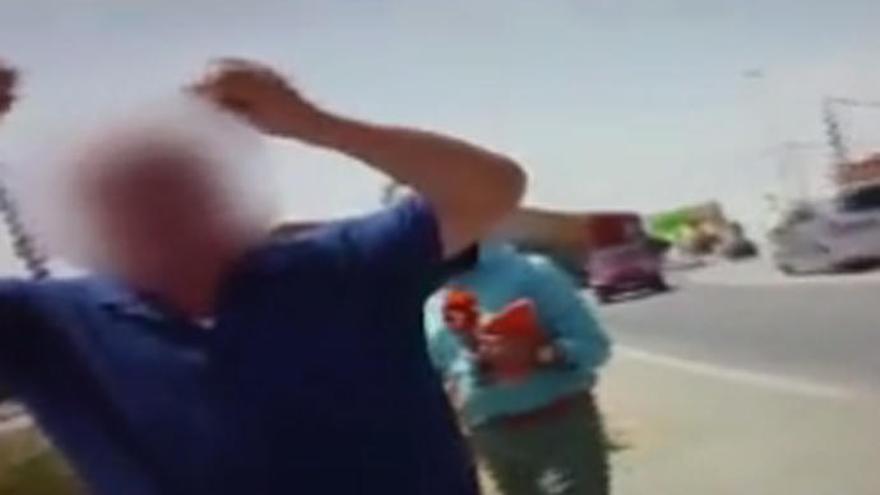 Agreden a un periodista en Murcia durante un reportaje