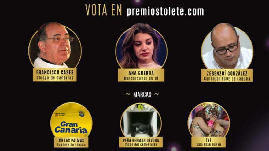 Los Premios Tolete eligen campeón