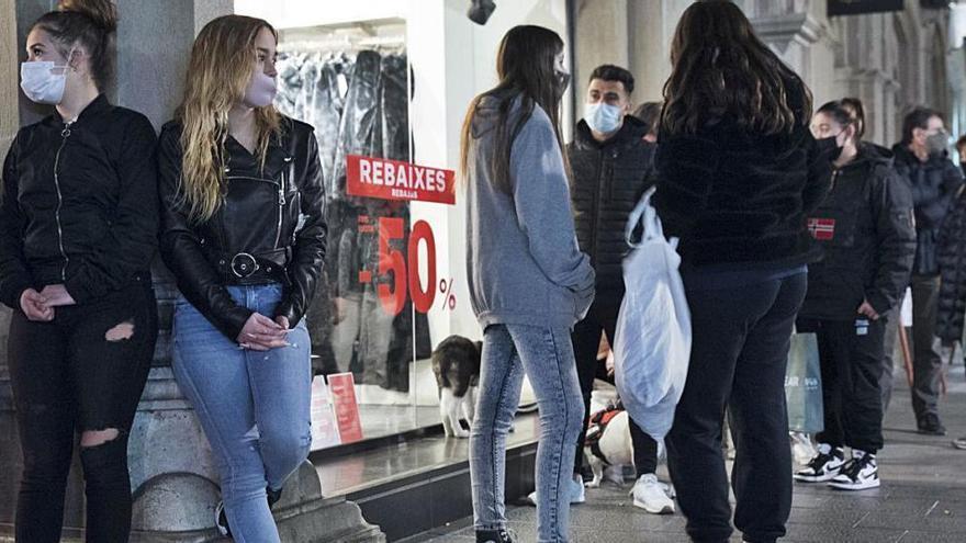 El comerç de Manresa calcula el 20% menys de vendes durant les rebaixes per les restriccions