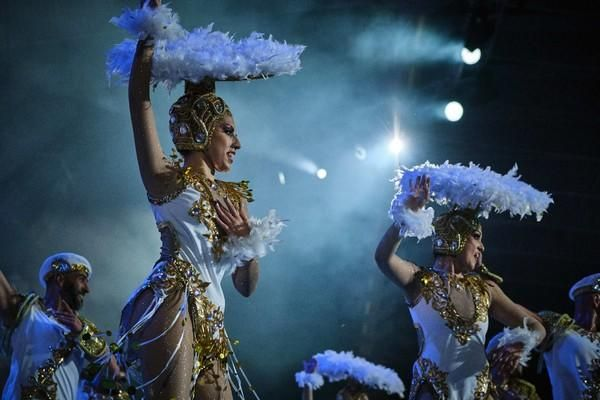 Concurso de comparsas de Santa Cruz de Tenerife 1. Tropicana  | 15/02/2020 | Fotógrafo: Andrés Gutiérrez Taberne