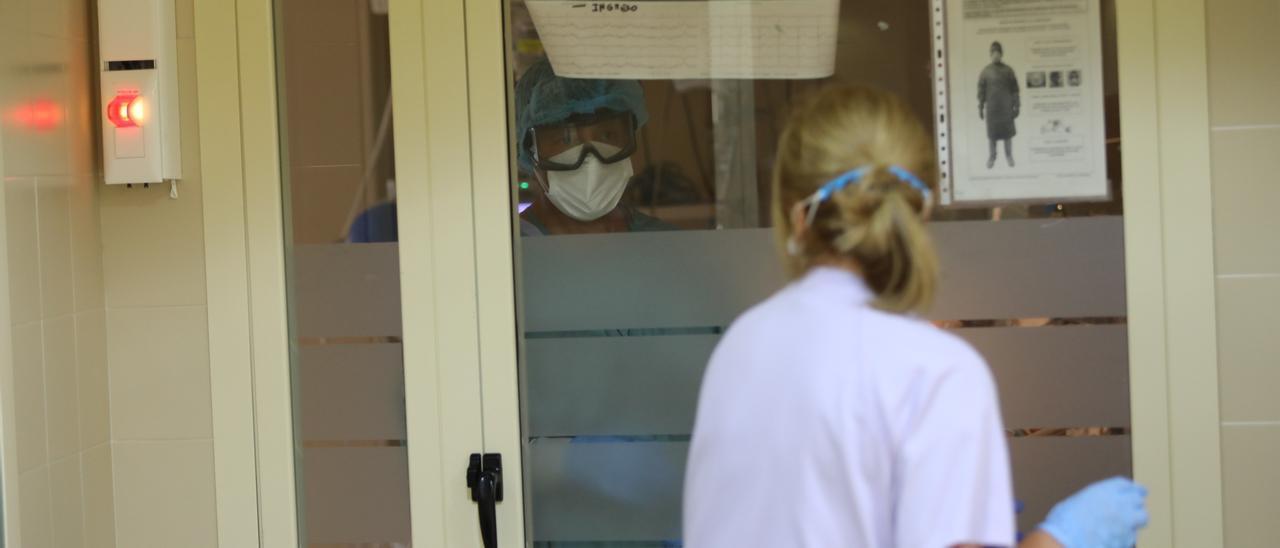 Personal sanitario del Hospital General de Elche durante la pandemia de coronavirus