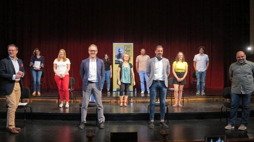 La tercera obra del 'Laboratorio Galdós' rinde un homenaje inmersivo al teatro