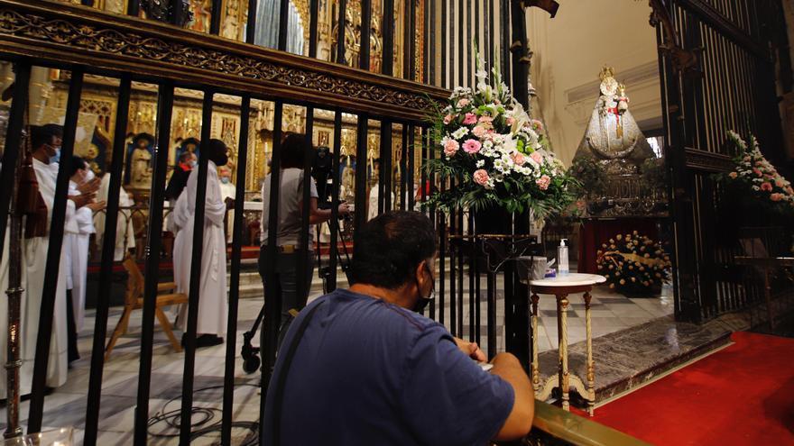 Procesión de interior para la Fuensanta este domingo en la Catedral