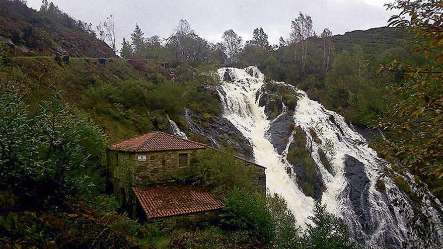 La gran catarata de Galicia