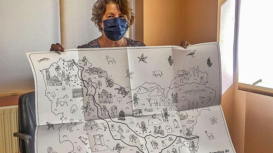 Verín, protagonista de juegos sobre el Camino de Santiago
