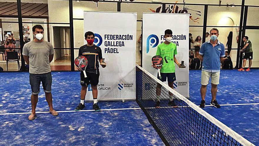 Gran papel del Fmsport Pádel Silleda en el gallego disputado en Monforte