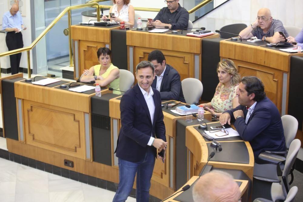 César Sánchez se despide de la Diputación